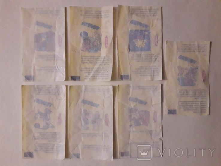 Вкладыши жвачки TOFITA, фото №3