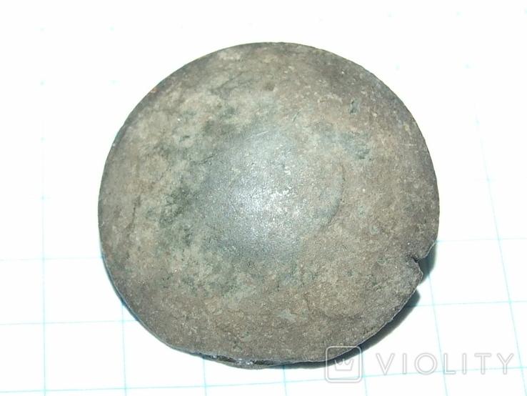 Пуговица периода РИ, лысая, фото №8