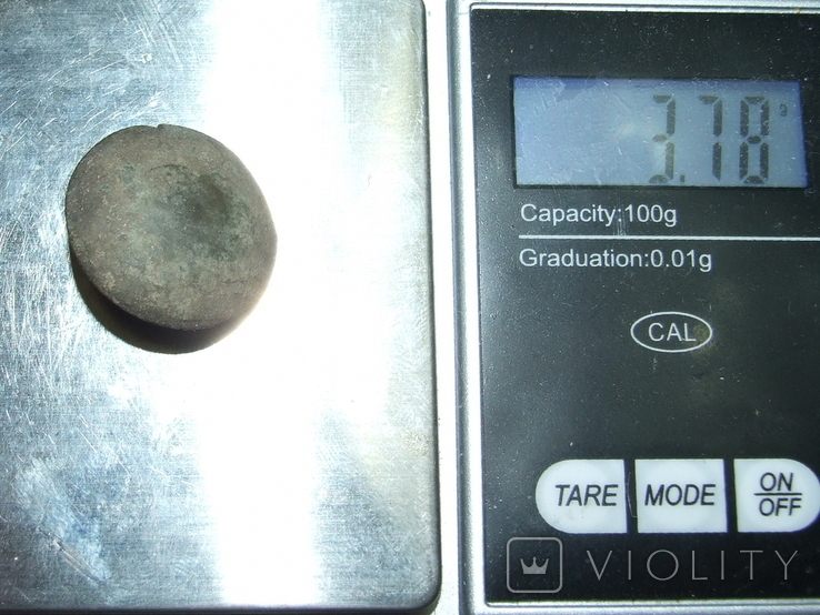 Пуговица периода РИ, лысая, фото №10