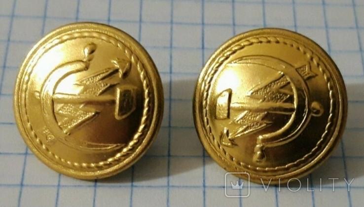 Пуговицы связь почта СССР 1973 новые, фото №4