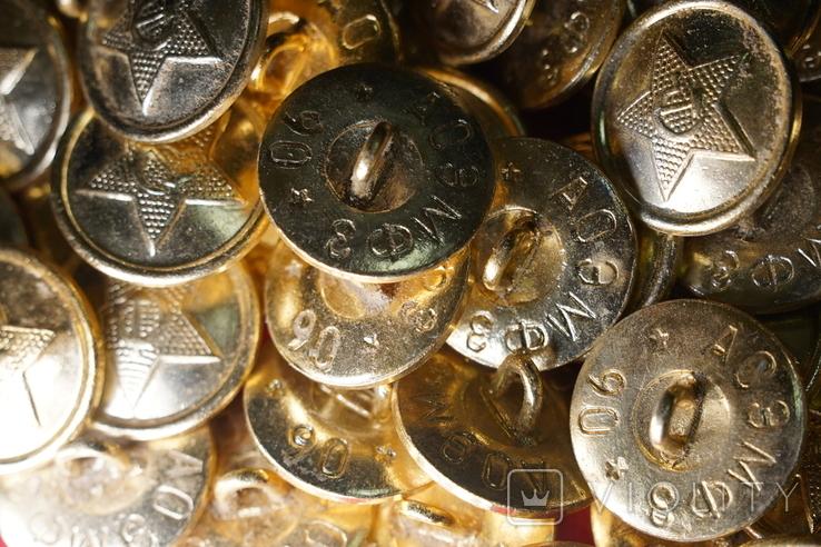 Пуговица СССР на военную форму, китель, шинель, фото №8