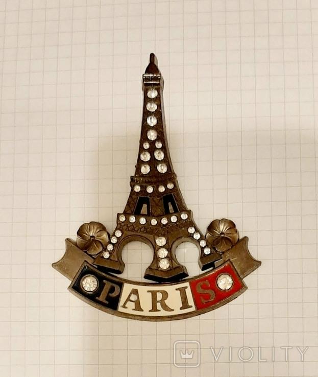Магнитик Париж, Эйфелевая башня, фото №4