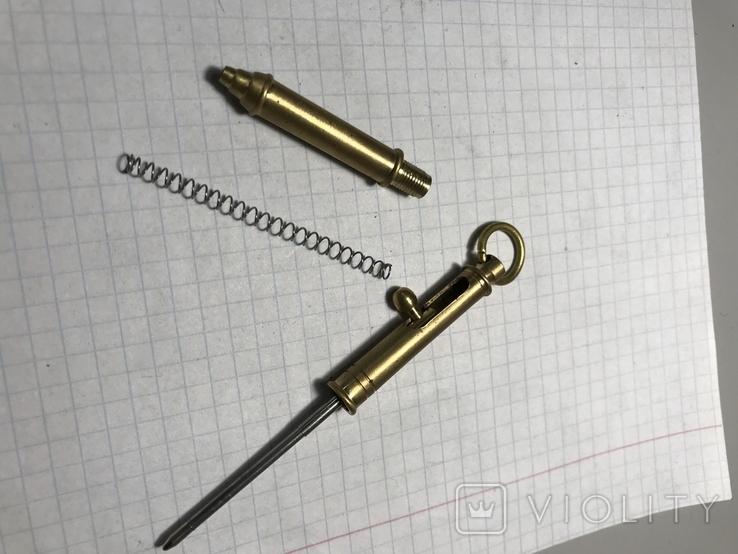 Ручка-брелок для самообороны, фото №3