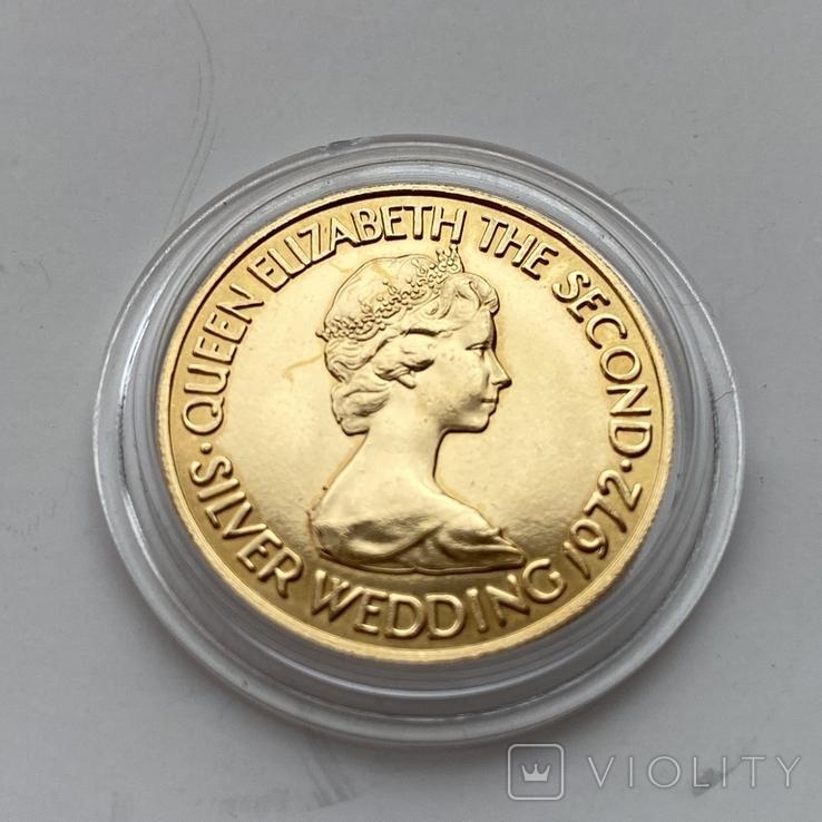 20 фунтов 1972 г. Елизавета II, фото №2