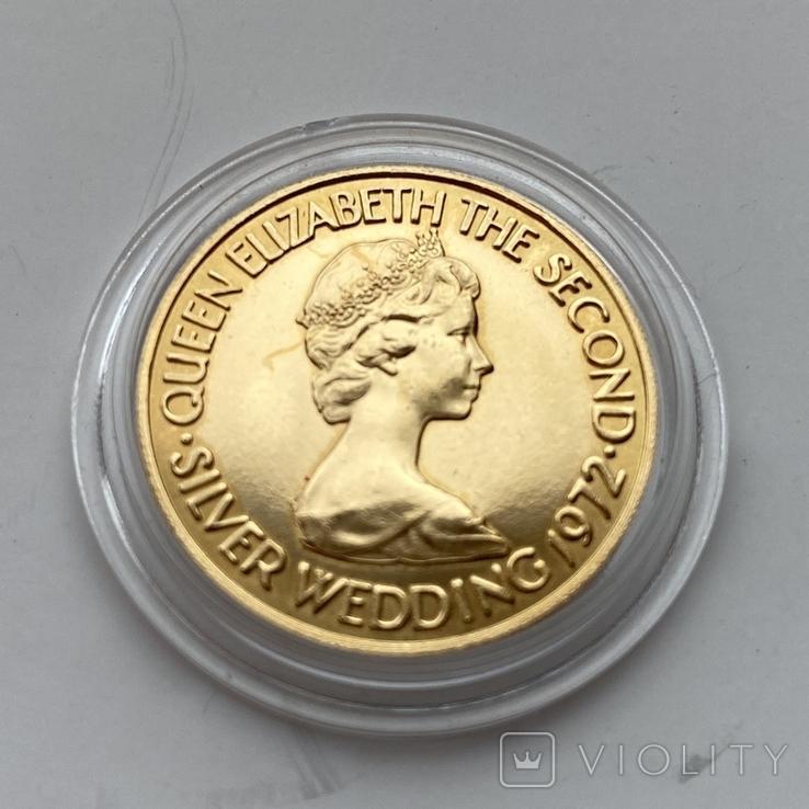 20 фунтов 1972 г. Елизавета II, фото №4