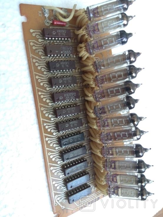 Радиодетали индикаторы цыфровые на плате, фото №4