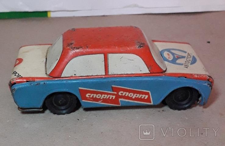 Машинка АВТОСПОРТ РАЛЛИ длина 14 см СССР, фото №2