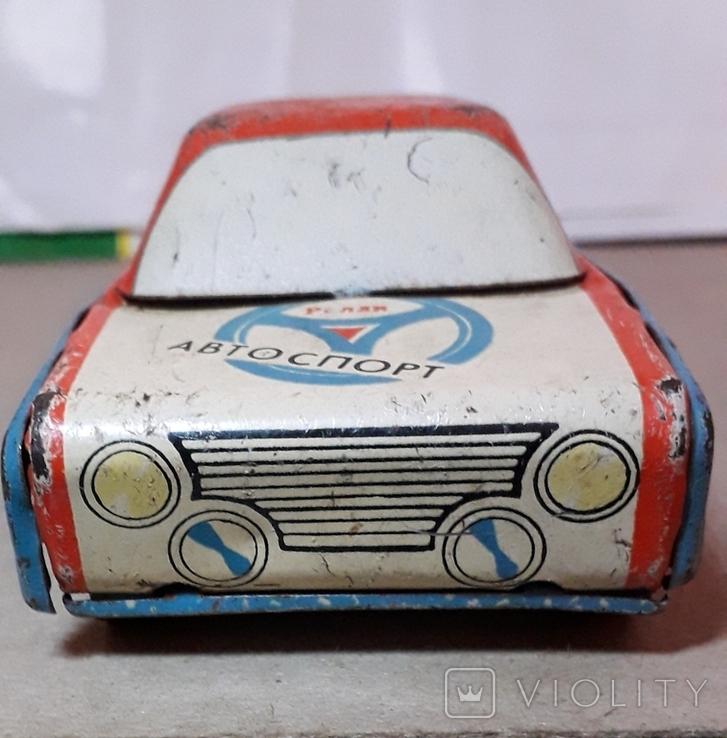 Машинка АВТОСПОРТ РАЛЛИ длина 14 см СССР, фото №4