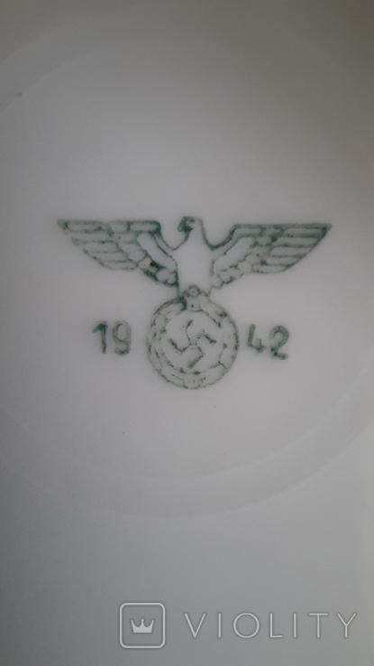 Блюдце 1942год, фото №6