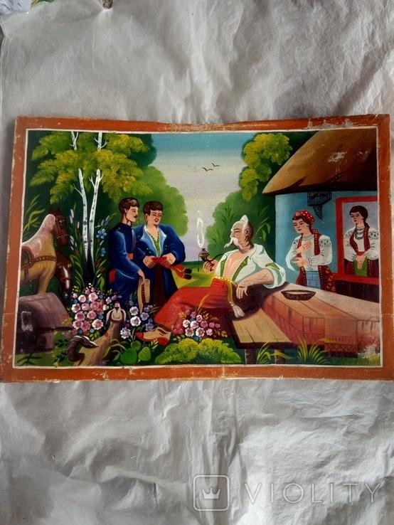 Картина Тарас Бульба. копія., фото №3