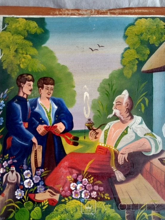 Картина Тарас Бульба. копія., фото №4