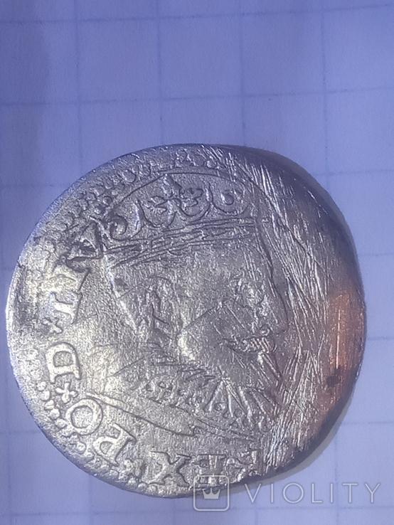 3 гроша 1595 Рига, фото №3