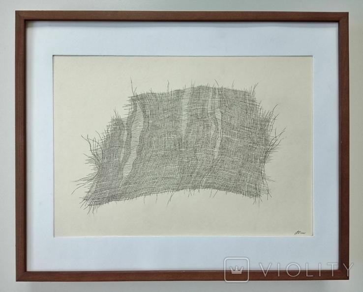 """Рисунок """"Уставшая ткань. 30.01"""", фото №2"""