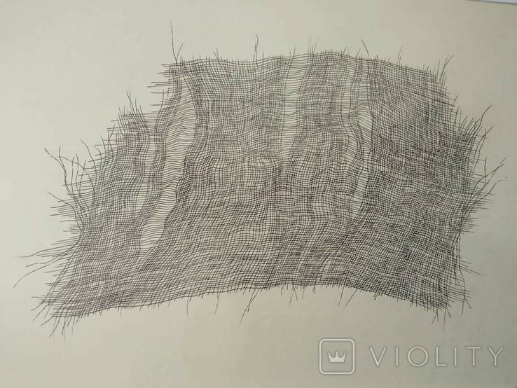 """Рисунок """"Уставшая ткань. 30.01"""", фото №3"""