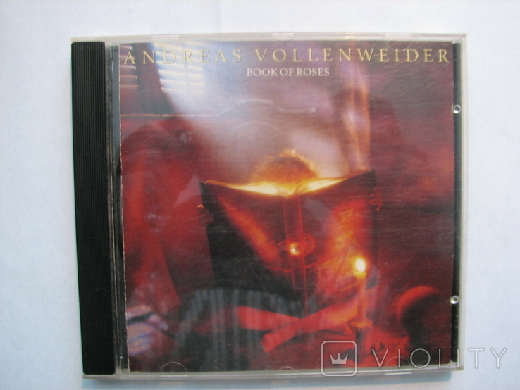 "ANDREAS VOLLENWEIDER""BOOK OF ROSES""1991г CD фирменный, фото №6"