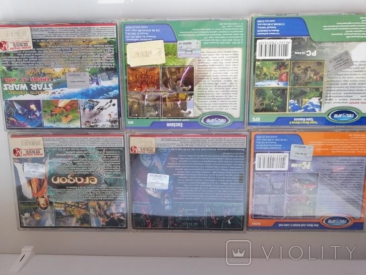 Игры для ПК, 10 шт., подставка для игр (для 25 шт), фото №4