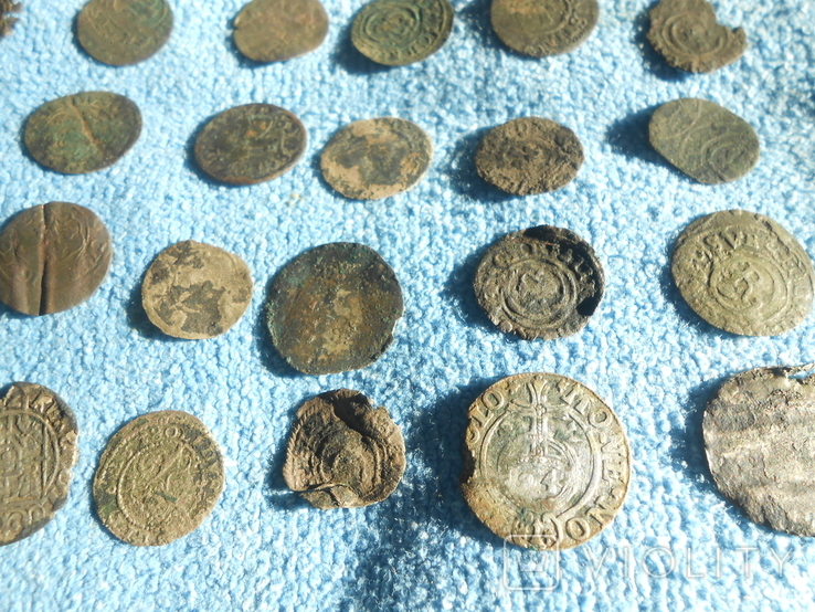 Монеты средневековья., фото №10