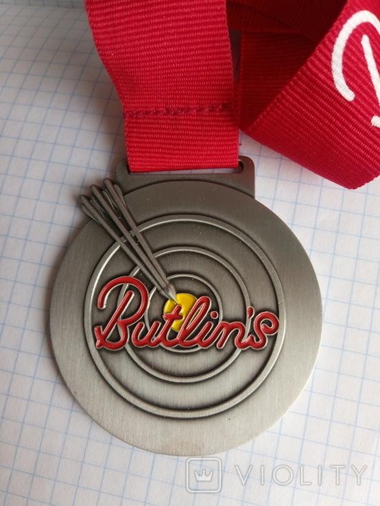 Медаль стрельба из лука Butlin's Англия, фото №2