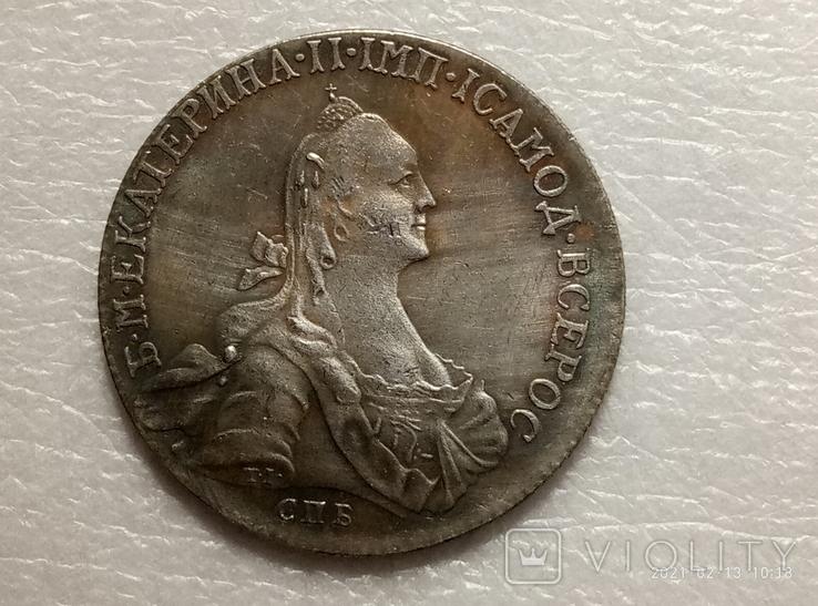 Полтина 1768 год s13 копия, фото №2