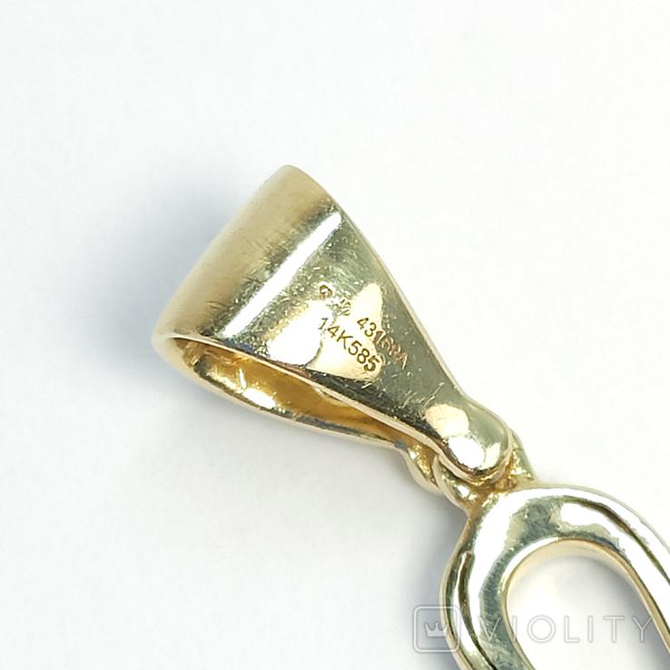Золотой коптский крест с бриллиантами, фото №5