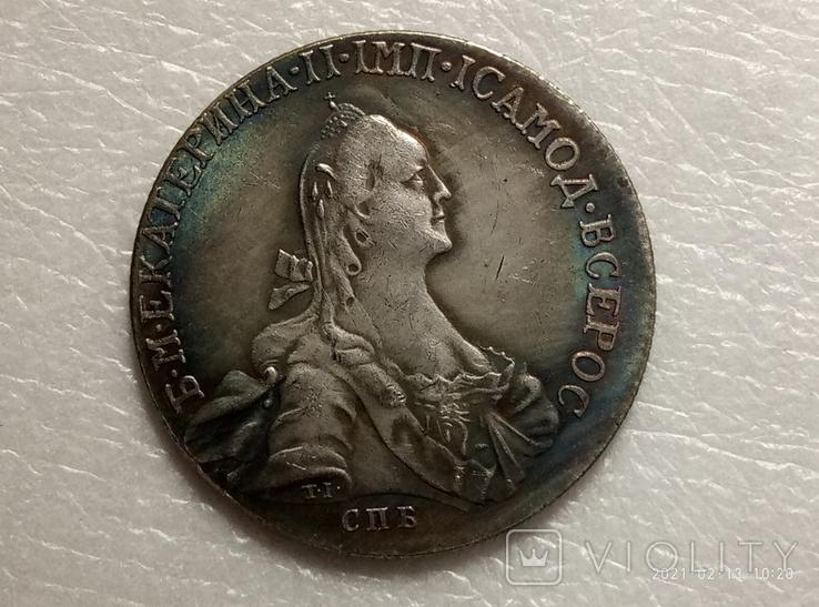 Полтина 1764 год s18 копия, фото №2