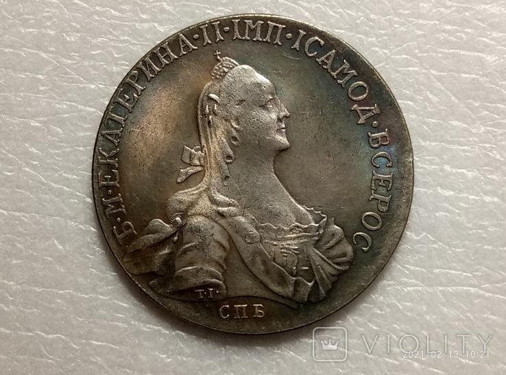Полтина 1772 год s22 копия, фото №2