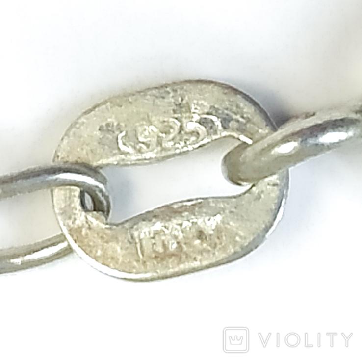 """Серебряная подвеска """"ключик"""" на цепочке, фото №5"""