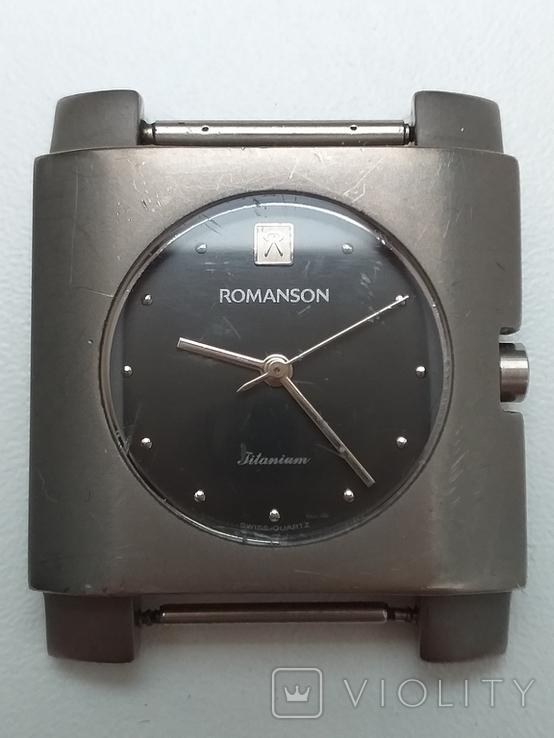 Часы наручные, Romanson Swiss Quartz (рабочие), фото №2