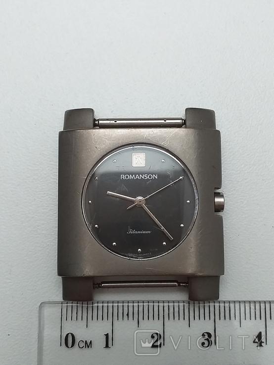 Часы наручные, Romanson Swiss Quartz (рабочие), фото №5