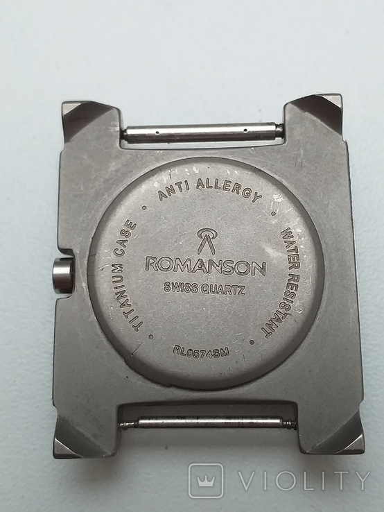 Часы наручные, Romanson Swiss Quartz (рабочие), фото №8