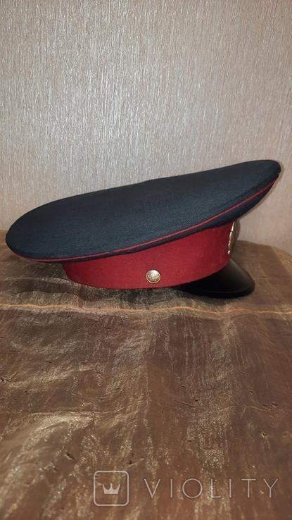 Милицейская фуражка СССР 89 год, фото №3