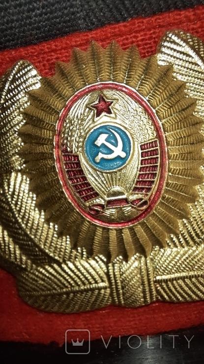 Милицейская фуражка СССР 89 год, фото №7