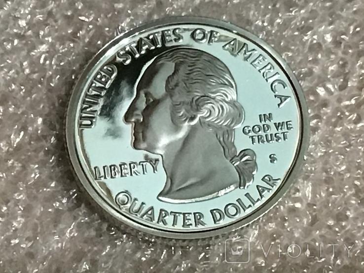 25 центов сша 2006 г. Серебро, фото №3