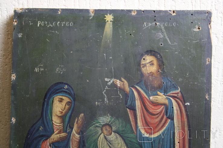 Рождество Христово 31,5х26,5, фото №4