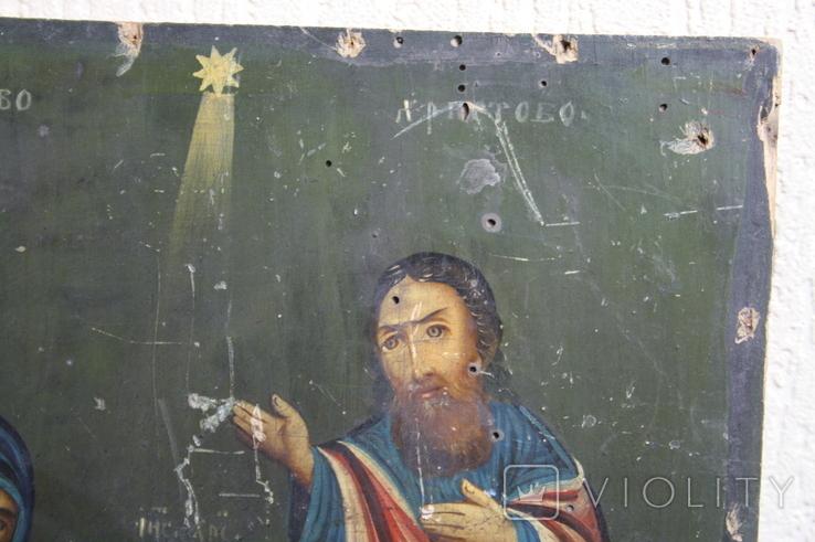 Рождество Христово 31,5х26,5, фото №6