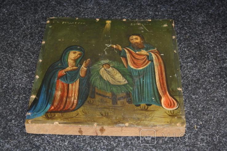 Рождество Христово 31,5х26,5, фото №10