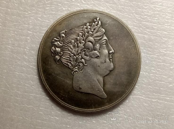 Медаль Для Блаженства Всех 1776-1826 императрица Мария Федоровна s52 копия, фото №2