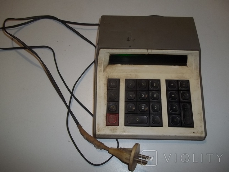 Электронный калькулятор, фото №2