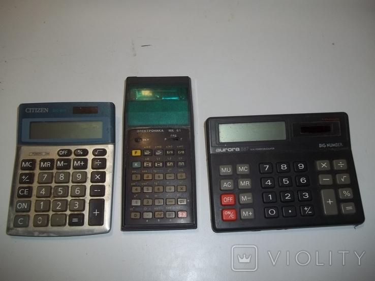 Электронный калтькулятор электроника МК, фото №2