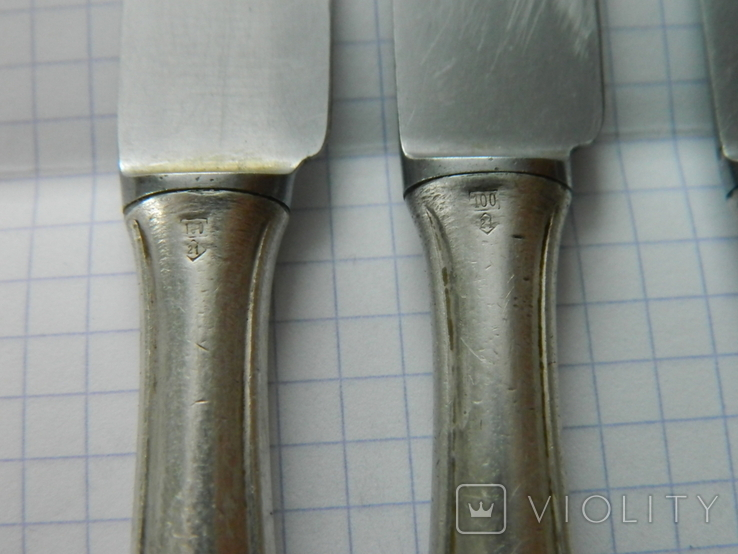 Ножі WMF, 4шт., фото №12