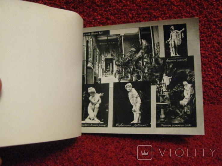Малый альбом фотографий. Алупка Дворец музей, 1967г, фото №5