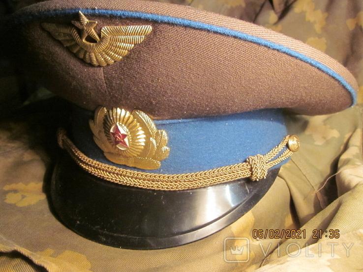 Фуражка повседневная лётчика ВВС., фото №3
