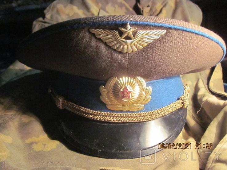 Фуражка повседневная лётчика ВВС., фото №4