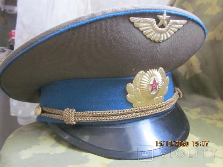 Фуражка повседневная лётчика ВВС., фото №2
