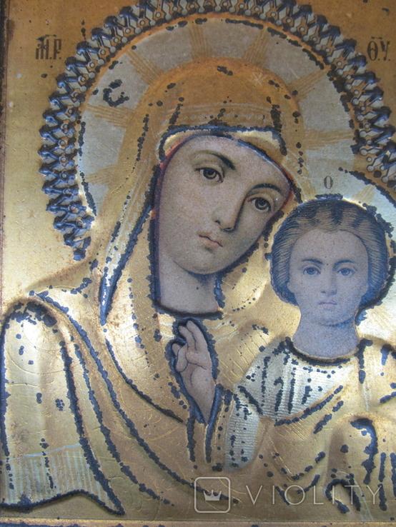 Икона Казанская БМ, Жако, 17,5 х 14 см., фото №4