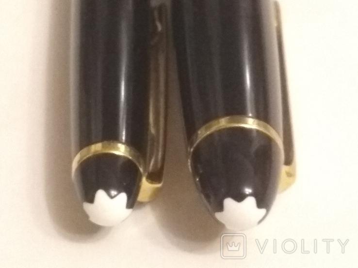 Montdlanc Meisterstuck ручка шариковая и миханический карандаш, фото №2