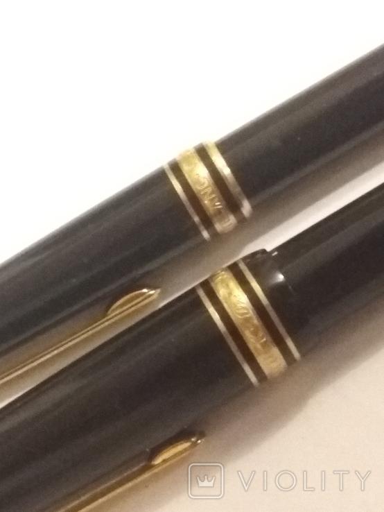 Montdlanc Meisterstuck ручка шариковая и миханический карандаш, фото №4