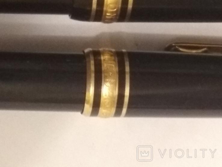 Montdlanc Meisterstuck ручка шариковая и миханический карандаш, фото №6