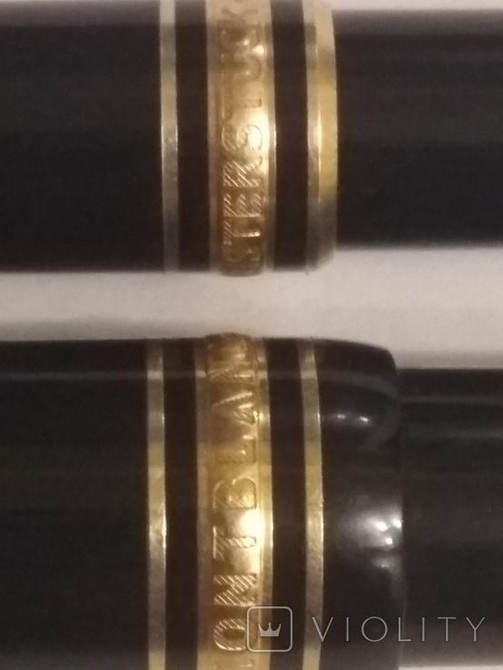 Montdlanc Meisterstuck ручка шариковая и миханический карандаш, фото №9