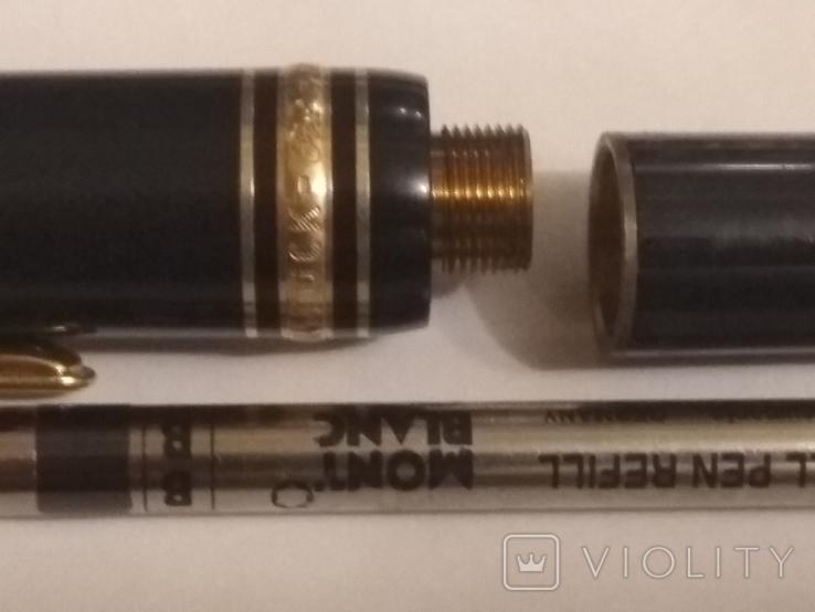 Montdlanc Meisterstuck ручка шариковая и миханический карандаш, фото №10